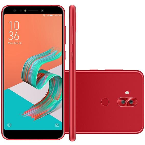 Smartphone Asus Zenfone 5 Selfie Pro, 128gb, Tela 6 - Red