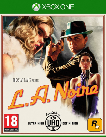 L. A. Noire (xbox One) Lacrado / Mídia Física