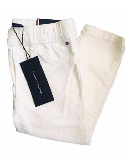 Pantalón Tommy Hilfiger Niña De Pana Jeans Nuevo Remate