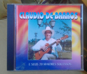 Cd Claudio De Barros.... Original..