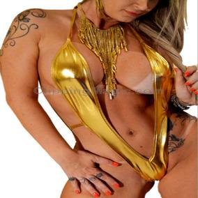 Monoquíni Malha Ouro 127 - Ropahrara