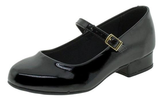 Sapato Infantil Feminino Molekinha - 2528101 Verniz/preto