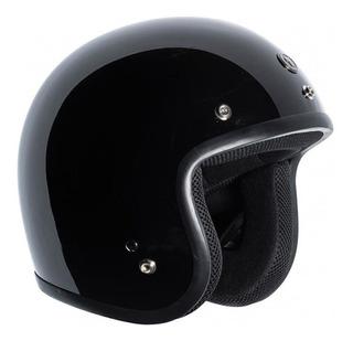 Casco Torc T50c Negro Brillante 3/4 Rider One