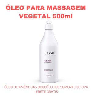 Óleo Vegetal De Massagem Lakma (500ml)