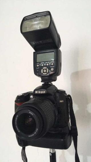 Nikon D90 Com Lentes Do Kit