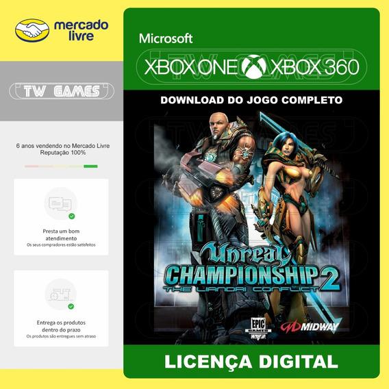 Unreal Championship 2 Digital Retro Xbox One Xbox 360