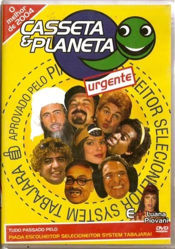 Dvd Casseta & Planeta Urgente - O Melhor De 2004 - Novo