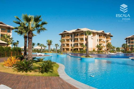 Apartamento Com 1 Dormitório Para Alugar, 39 M² Por R$ 250,00/dia - Cumbuco - Caucaia/ce - Ap1190