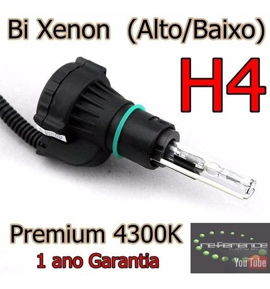 Kit Bi Xenon H4 Alto E Baixo Xenon  4300k 5000k