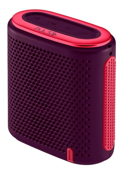 Mini Caixa De Som Portátil Pulse Bluetooth/sd/p2 10w Rms