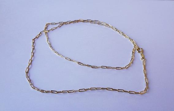 Corrente Cordão Cartier 1x1 Ouro 18k / 7.62g / 55cm