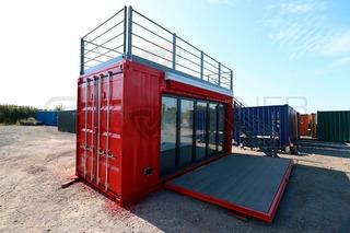 Container Escritorio/loja/cafeteria/vendas Ecologico