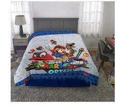 Edredon De Mario Bros.Edredon De Borrego De Mario Bros En Mercado Libre Mexico