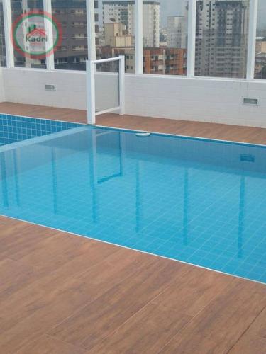 Apartamento À Venda, 63 M² Por R$ 324.000,00 - Vila Guilhermina - Praia Grande/sp - Ap4768