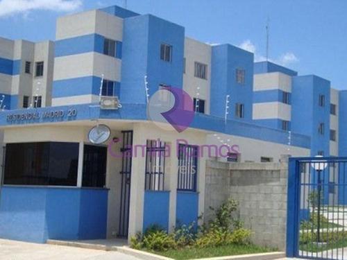 Imagem 1 de 11 de Apartamento À Venda, 02 Dormitórios, 01 Vaga De Garagem Em Vila Urupês - Suzano/sp. - Ap0226 - 68322082