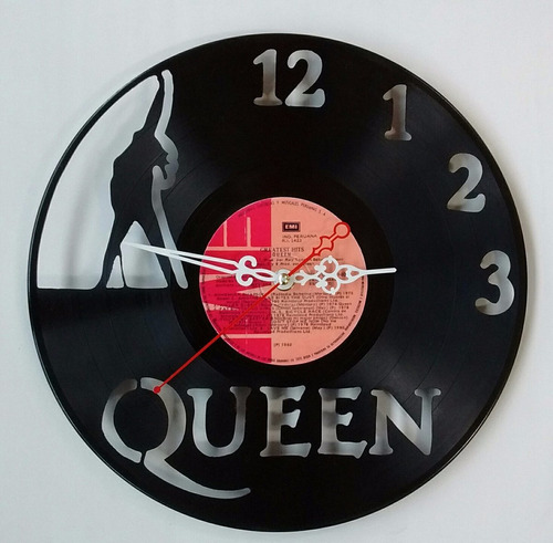 Queen Disco De Vinilo Reloj  Arte  Decoracion