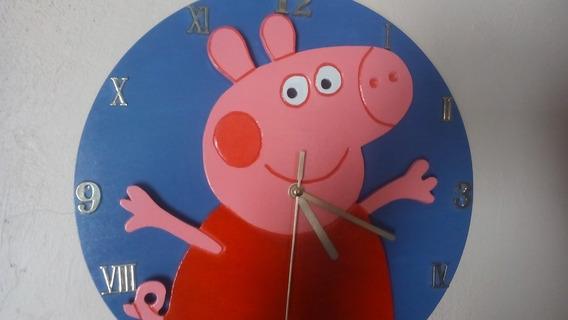Reloj De Pared Cualquier Diseño,hecho A Mano En Madera Mdf