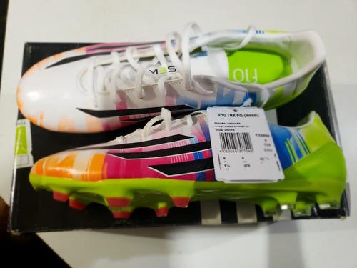 da0cf65c Botines Adidas Messi F10 - Botines Césped natural para Adultos ...