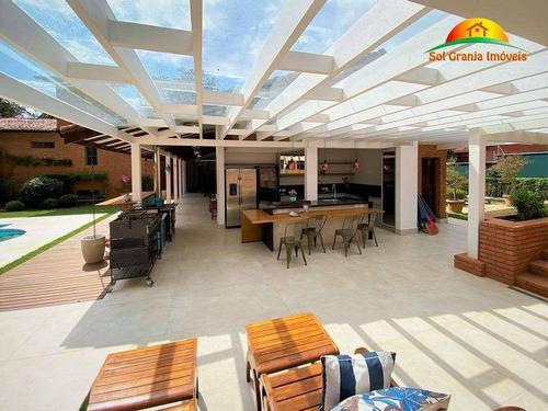 Casa À Venda, 594 M² Por R$ 2.250.000,00 - Granja Viana - Carapicuíba/sp - Ca0161