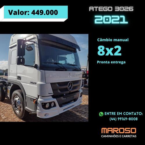 Imagem 1 de 9 de Mercedes-benz 3026  Atego 3026 8x2 0km
