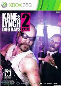 Jogo Kane E Lynch Dog Days 2 Xbox 360