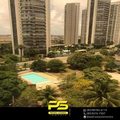 Imagem 1 de 6 de Sala Para Alugar, 145 M² Por R$ 6.000/mês - Altiplano Cabo Branco - João Pessoa/pb - Sa0240