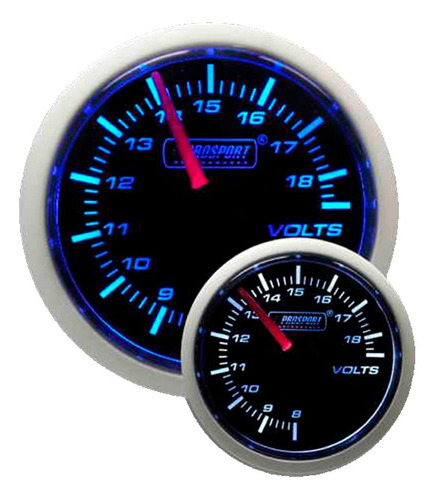 Reloj Voltímetro 52mm Prosport