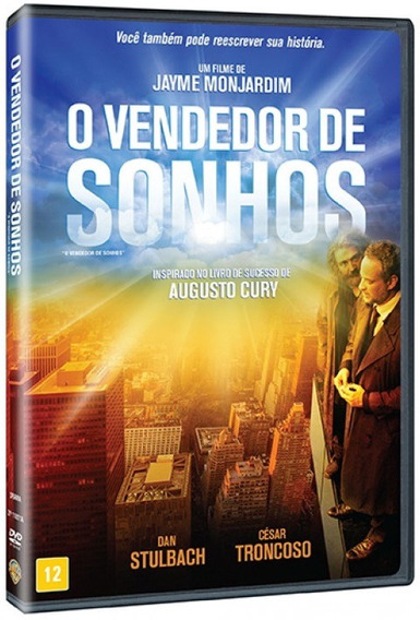 Dvd O Vendedor De Sonhos [ O Chamado ] Augusto Cury