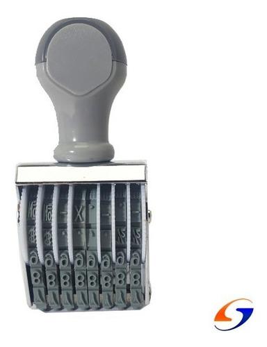 Sello Numerador Shiny 4mm. Serviciopapelero