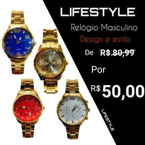Relógio Masculino Gold