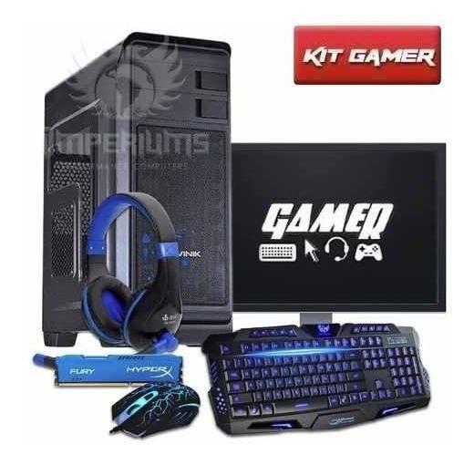 Pc Gamer Completo I3 / 8gb / Gtx 1060 / 1tb