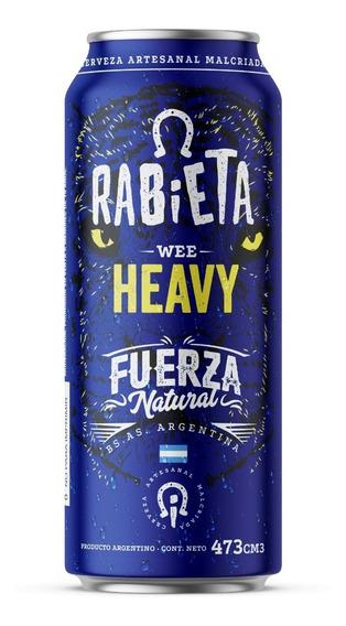 Cerveza Rabieta Wee Heavy 473cc Pack X 12 Latas X 3