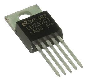 5 * Lm2576t-adj - Regulador De Tensão Chaveado Ajustável