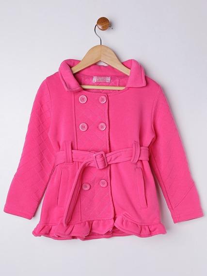 Jaqueta Infantil Para Menina - Rosa