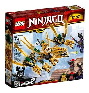 Lego® Ninjago - Dragón Dorado (70666)