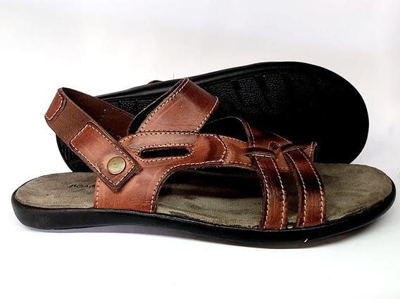 Chinelo Sandalia Masculino De Couro Fort Shoes Promoção
