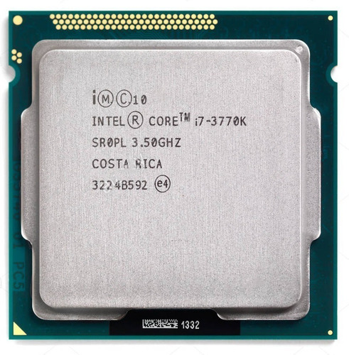 Imagem 1 de 5 de Processador Intel Core I7 3770k 3.5 Ghz Lga 1155 3º Geração