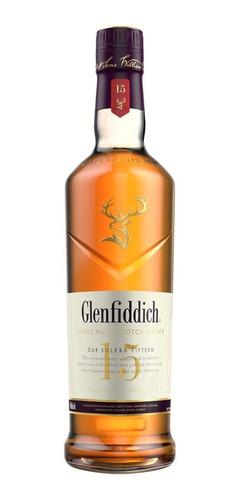 Imagen 1 de 1 de Botella Whisky Glenfiddich 15 Años 750ml