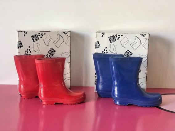 Botas De Lluvia Magneto Talle 29/30 (rojas) Y 31/32 (azules)