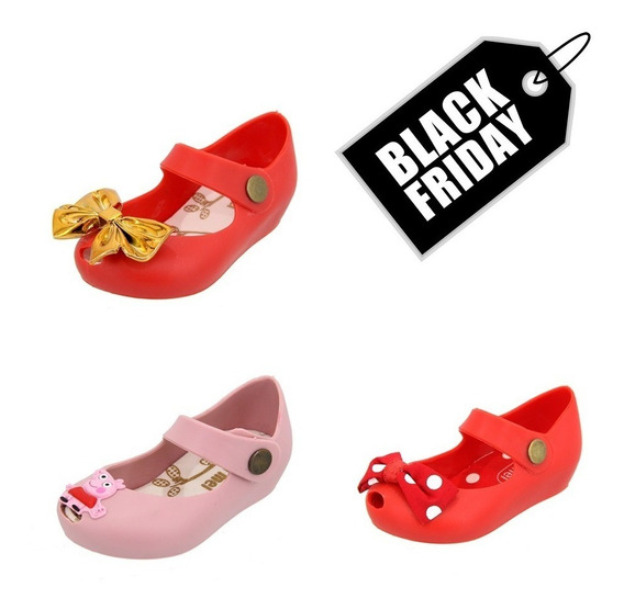 Kit Black Friday 3 Sapatilhas Feminina Infantil Promoção