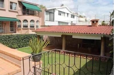 Fuentes Del Pedregal Hermosa Casa Con Jardín Y Salón.