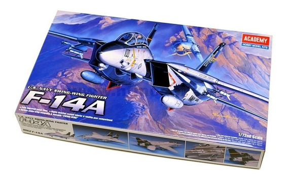F-14a U.s Navy Swing-wing Fighter -escala 1/72 Academy 12471