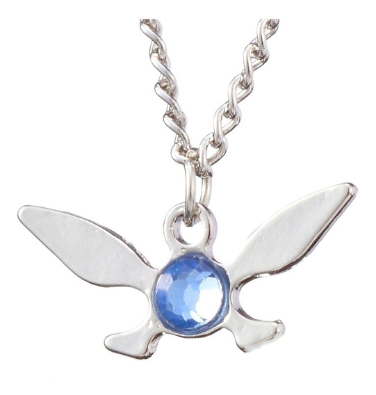 Collar Navi Hada Cristal Azul The Legend Of Zelda