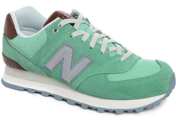 Zapatillas New Balance Wl574 Mujer Urbanas Importadas