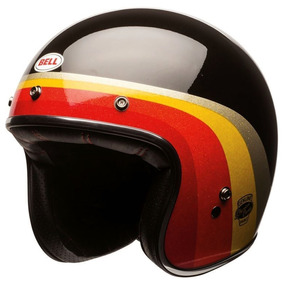 Capacete Bell Custom 500 Chemical Candy Black Gold