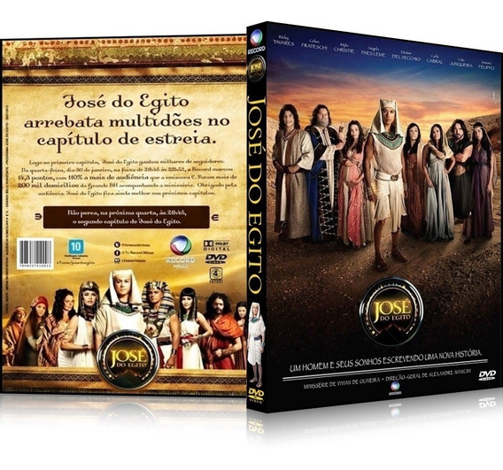 2 Box Minisérie Bíblica José Do Egito [38 Capítulos] Complet