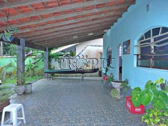 Casa Na Praia Com 1 Dormitório À Venda, 221 M² Por R$ 450.000 - Boracéia Ii - São Sebastião/sp - Ca0158