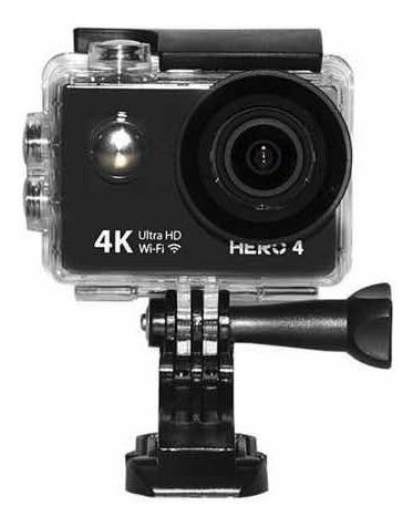 Câmera De Ação Goal Pro Hero 4 - Wifi/4k - Pronta Entrega