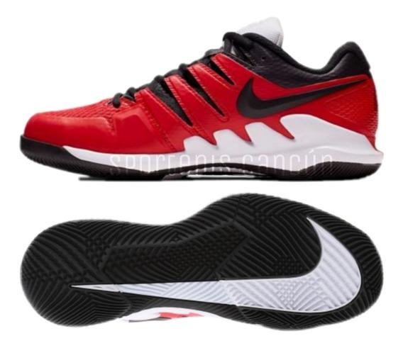 Tenis Nike Air Zoom Vapor X Hc Roger Rojo