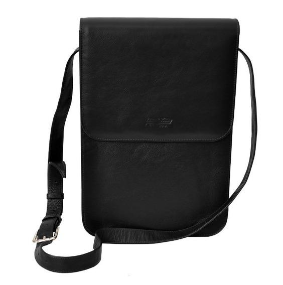 Bolsa Em Couro Carteiro Pasta Notebook iPad Tablet